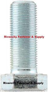 (1) M14-1.5X25 / M14x25 / 14mm x 25mm Bolt / Hex head Cap Screws Fine Thread