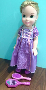 Princess Rapunzel toddler doll and accessories