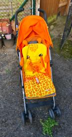 Mothercare Giraffe Pram/Stroller