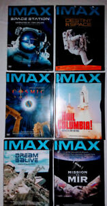 NEW IN WRAPPER! Set of 6 IMAX Dvds