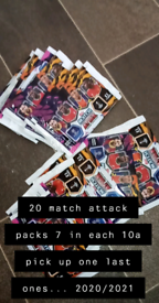 21 packs of match attacks