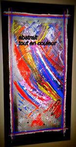 tableau abstrait,moderne,comtemporain a vendre