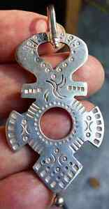 Silver Crosses Hand Hammered in Sulewasi Indonesia 2 West Island Greater Montréal image 1