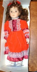 Genuine Porcelain Doll - Century Collection - with Certificate. Stratford Kitchener Area image 1
