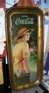 1916 Coca Cola Tray  - NOT A REPRODUCTION