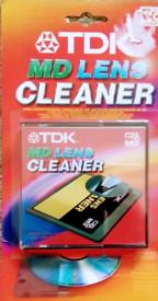 TDK Minidisc Lens Cleaner (New)
