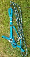 Weaver halter and lead