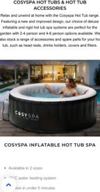 Cosyspa inflatable hot tub