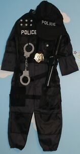 TODDLER 2-4 YEARS OLD POLICE COSTUME