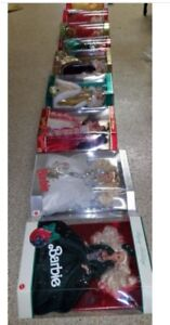 Holiday Barbies new in the Box 2000-2014