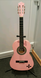 Guitar Classic by Falcon including Bag and Stand - 3/4 Size