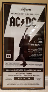 AC/DC LET THERE BE ROCK Cinema Poster