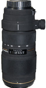 Sigma 70-200 zoom lens for Canon
