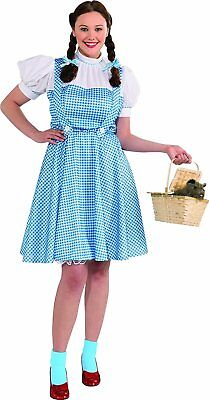 1 Pc Womens Dorothy Costume Blue Xx-large Includes Hair Bow, Dress - Ages 18+