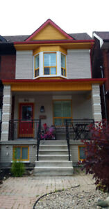 TWO  BEDROOM LOWER UNIT/BASEMENT HIP TRENDY JUNCTION TRIANGLE.