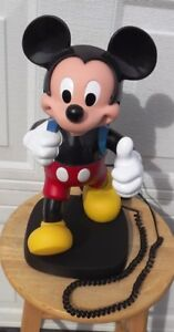 Vintage Backpack Mickey Mouse Phone