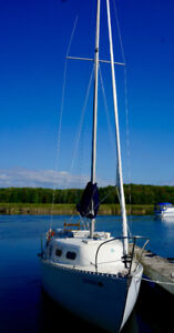 Grampian 26-Perfect Boat For a Liveaboard!