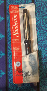 Sunbeam Curling Brush Iron Brand New