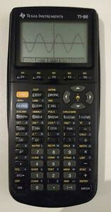TI-86 Graphing Calculator with case and Manual