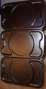 3 wooden place trays $ 2 each or all for $ 5