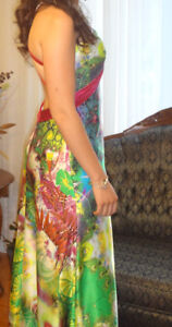 Colourful Dress For Wedding Guest