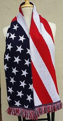 United States Soccer Scarf ~ Country of United States of America Scarf USA (America Scarf)
