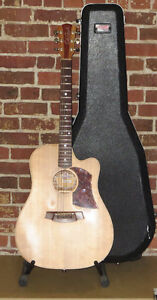 Guitare acoustique Clark Cole Fat Lady 2