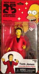 Tom Jones Action Figure from The Simpsons!