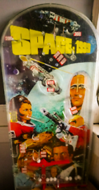 MARX SPACE 1999 BAGATELLE PINBALL GAME GERRY ANDERSON 1970's
