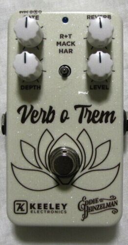 Used Keeley VoT Eddie Heinzelman Verb o Trem Reverb Tremolo Guitar Effects Pedal
