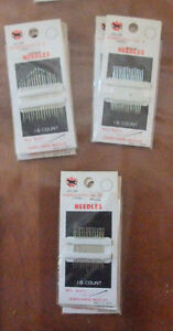 various Sewing Crown Horse Needles West Island Greater Montréal image 5