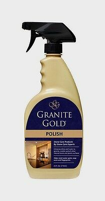 Granite Gold Granite Marble Natural Stone Polish Safe For Food Prep 24Oz Gg0033
