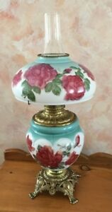 Antique Tiffany Oil Lamp
