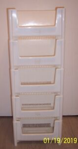 ( 5 ) Five Stacking Bins for Sale $25