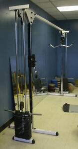 Commercial Cable Cross Over for Gym: Weight Pulley System