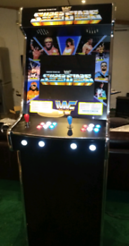 WWF SUPERSTARS THEME ARCADE CABINET