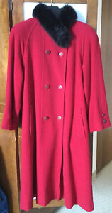 Manteau cashmere Coat à vendre/for sale