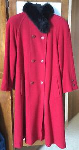 Manteau cashmere Coat à vendre/for sale