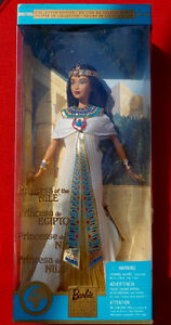 BARBIE PRINCESS OF THE NILE Dolls Of the World Collector's !