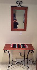 Tables & Mirror