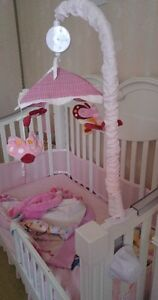 Musical Butterfly Crib Mobile