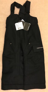 Obermeyer Kids Volt Snow Pants Brand New w/ Tags size 4 Black