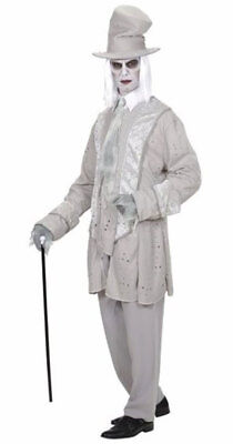 Ghost Gentleman Geister-Bräutigam Kostüm NEU - Herren Karneval Fasching Verkleid
