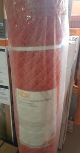 HDX 4 ft. x 50 ft. Safety Edge Fence in Orange Fence