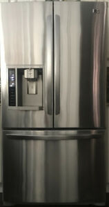 LG FRENCH DOUBLE DOOR REFRIDGERATOR STAINLESS STEEL