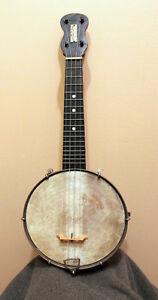Old banjo ukulele from 1890's