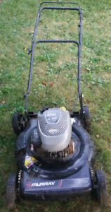 "Murray 5.5 hp 22"" mower.  For parts or scrap metal."