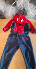 Spiderman Tracksuit 5-6years