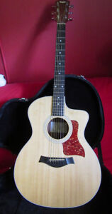 GENTLY LOVED TAYLOR 214CE GUITAR FOR SALE
