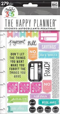 Create 365 The Happy Planner Snap In Sticker Pad  Get Paid